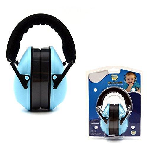 Ton Kinder Earmuffs / Gehörschützer - einstellbare Stirnband Ohrenschützer für Kinder, Blau