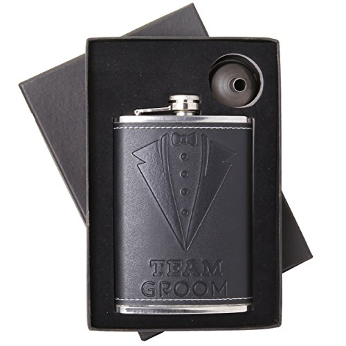 Vastigo 8 oz. Leatherette Flask