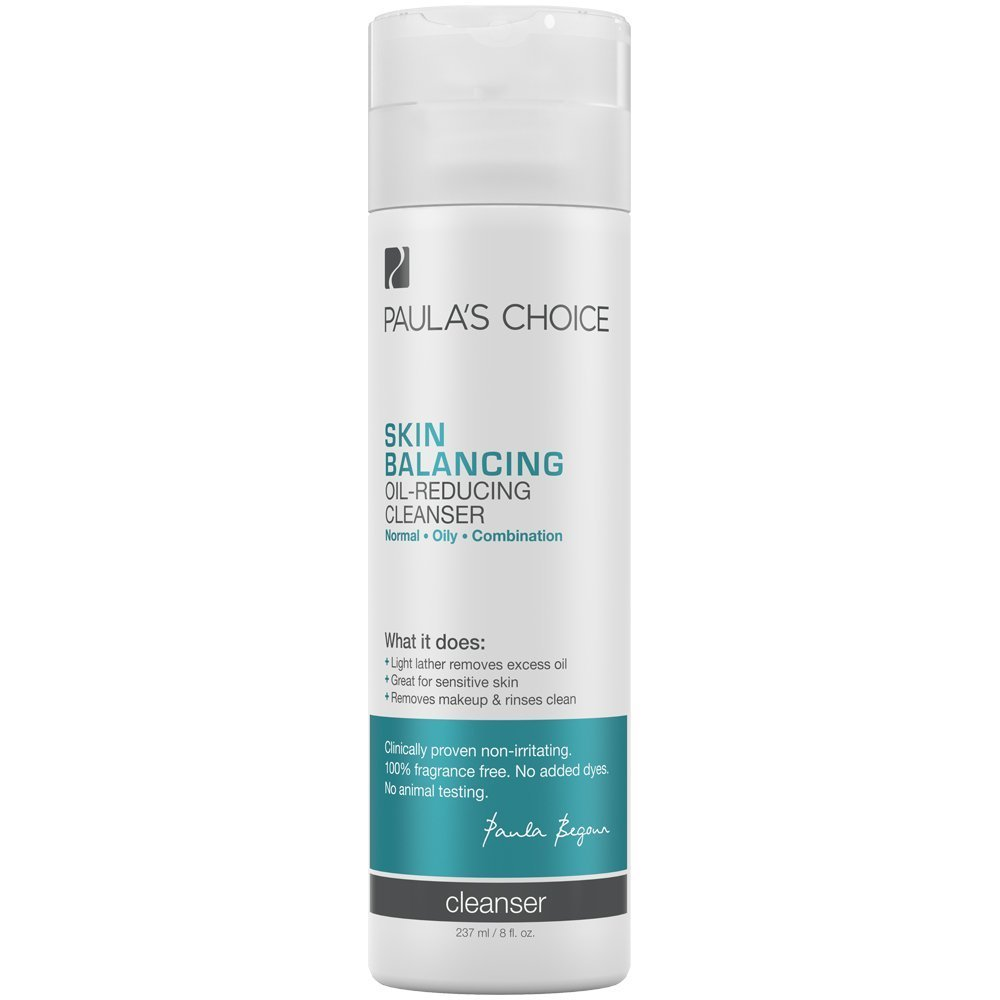 Paula's Choice Skin Balancing Oil-Reducing Cleanser for Normal, Combination, and Oily Skin - 8 oz Paula's Choice