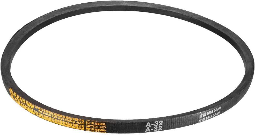 uxcell A-38 Drive V-Belt Girth 38-inch Industrial Power Rubber Transmission Belt