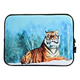 Best ICOLOR Laptop Sleeves - Tiger iColor 11.6