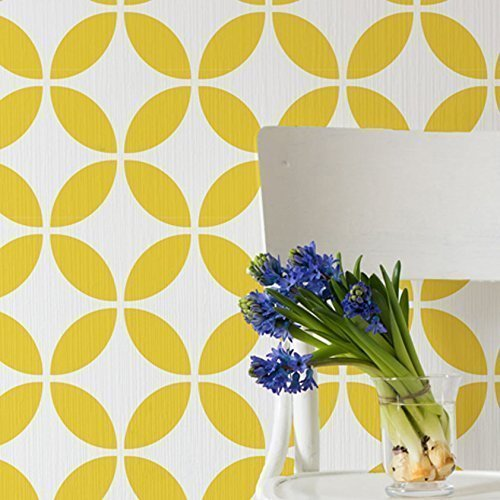 Amazon.com: Circulo tile Wall Stencil for Painting - Expedited 3 ...