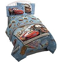 Disney/Pixar Cars Tune Up Blue/Gray 3 Piece Twin Sheet...