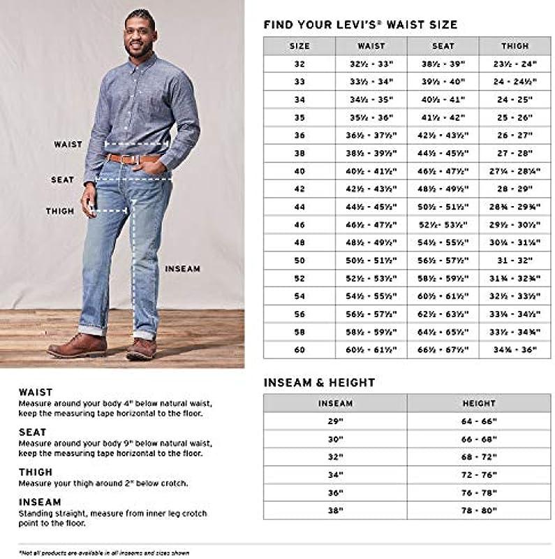 Levi's Jeansy mężczyźni panie, kolor: czarny: Odzież