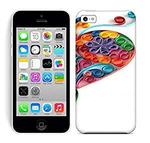 Lmf DIY phone caseBest Power(Tm) HD Colorful Painted Watercolor Quilling Haear Hard Phone Case For iphone 5cLmf DIY phone case