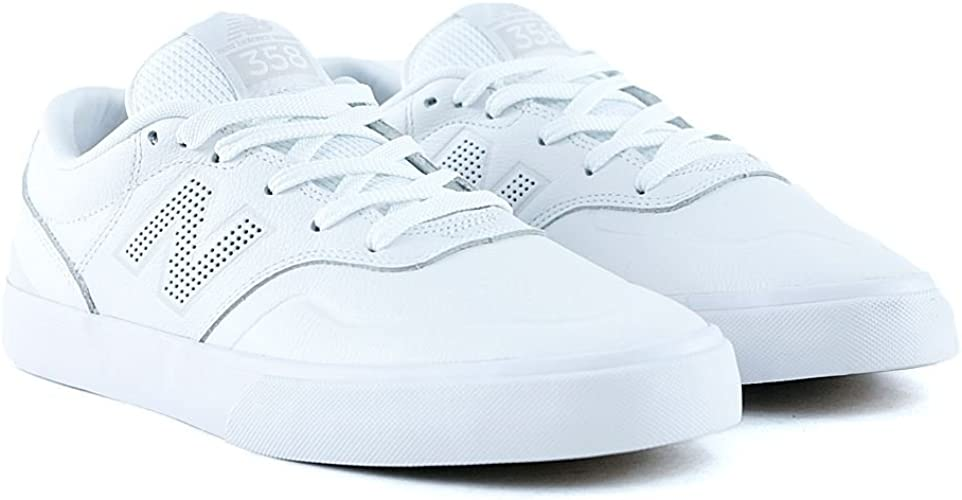 New Balance Numeric 358 White White