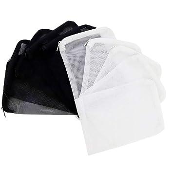 Favsonhome - 10 Bolsas de Filtro de Acuario reciclables para ...