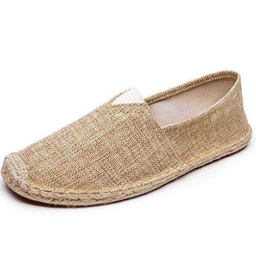 Highdas Unisex-Erwachsene Espadrilles Prints Flats Leinwand Schuhe Stoffschuhe Freizeitschuhe Damen/Herren 29#