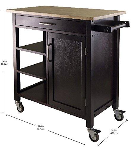 Winsome Mali Kitchen Cart