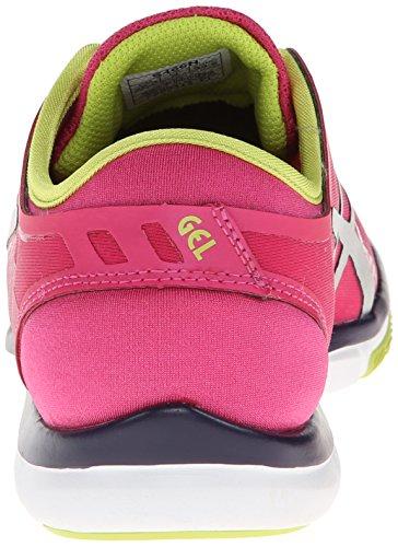 Asics Kvinder Gel Fit Nova Cross-træning Sko Hot Pink / Sølv / Lime MjfA8