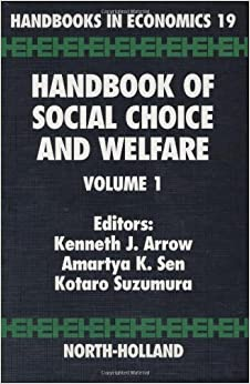 Ebook Como Descargar Libros Handbook Of Social Choice And Welfare: Vol 1 PDF
