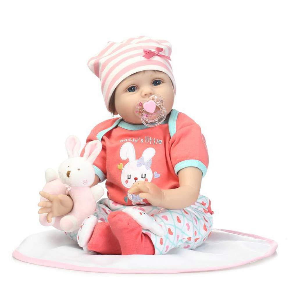 CHENG Wiedergeburt realistische Puppe Simulation Silikon Machen niedlichen Puppen können lehnende Nicht-Wasser-Spielzeug sitzen