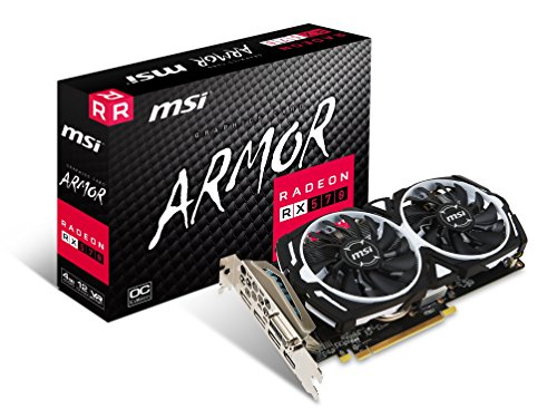MSI VGA Graphic Cards RX 570 ARMOR 4G OC by MSI