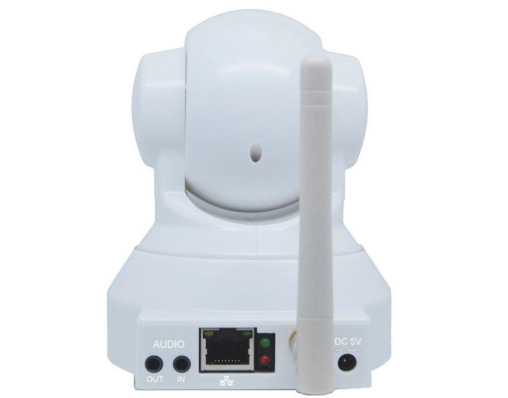 Foscam - FI8918W cámara IP para vigilancia interna motorizada con visión nocturna - WiFi - Blanco: Amazon.es: Bricolaje y herramientas