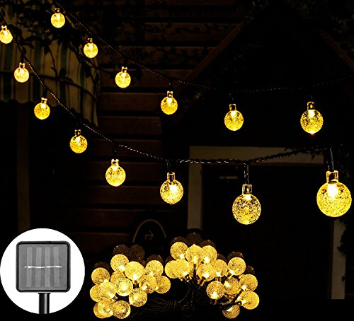 Outdoor Solar Lights Yellow - 4