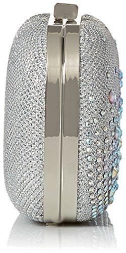 Emme Silver Minaudiere Sparkle Clutch McClintock Jessica Stones Evening RZx5c0zgqw