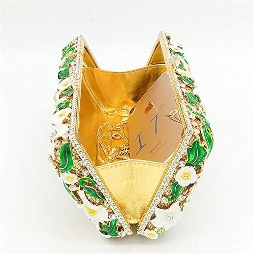 Zacheril Borsa da Sera Frizioni di Sera del Modello di Farfalla del Fiore del Grado dell'elevato Grado per Le Donne per La Festa di Nozze
