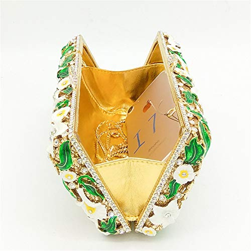 Main à à Papillon Haute la Les de rabbit qualité Lovely Fleur à Motif soirée Embrayages Femmes pour cloutés 6qSwf8qAF