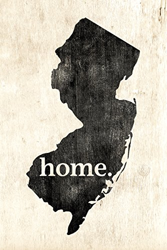 New Jersey Home Poster Print