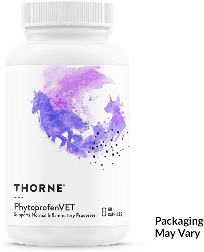 Thorne Research Veterinary – PhytoprofenVET – Supports Normal Inflammatory Response – 60 Capsules