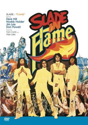 Classic Flame Santa - Slade in Flame