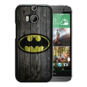 For HTC ONE M8,Batman 10 Black Protective Case For HTC ONE M8