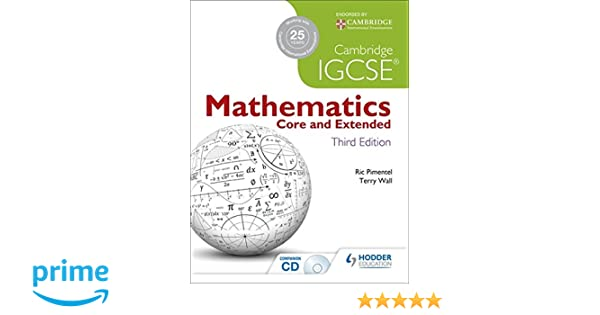 Amazon cambridge igcse mathematics core and extended 3ed cd amazon cambridge igcse mathematics core and extended 3ed cd 9781444191707 terry wall ric pimentel books fandeluxe Gallery