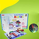 Qiyun Blocks Electronics Blocks Circuits Kit Science Educational Toy for Kids Children Teenscolour:?108?
