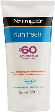 Protetor Solar Sun Fresh FPS 60, Neutrogena, 120ml