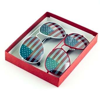 P&P Inc. American Flag Aviator Sunglasses Glasses
