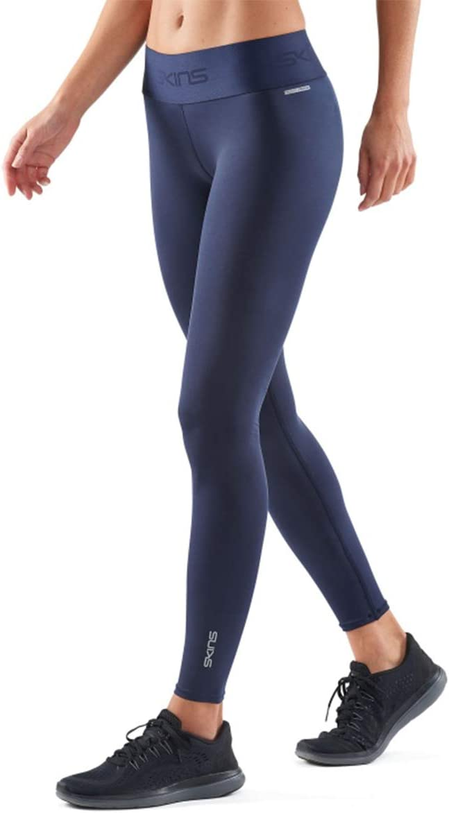 Ajustado Skins DNAmic Primary Performance Compression Long Tights Mujer