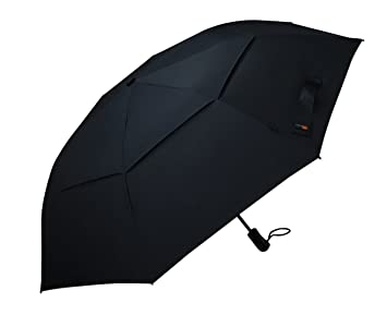 Paraguas de golf Umenice plegable, automático, 8 pliegues, tela 210T ventilada, color
