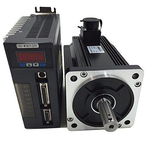 ToAUTO CNC AC Servo Motor & Drive Kit 3,8Kw 15NM 220V 2500R/min nema52130mm