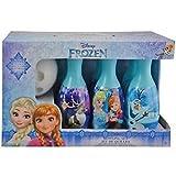 Disney Frozen Bowling Set Elsa Anna Olaf Princess Toy Ball Pins Blue Bonus 2 balls