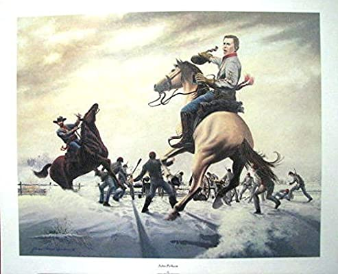 "JOHN PELHAM  BY JAMES THOMAS NEUMANN 17/"" X 21/"" CIVIL WAR PRINT"