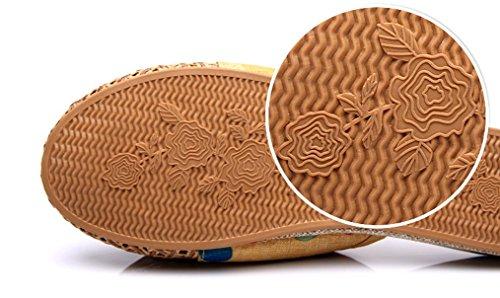 Cattior Sandali Donna Ciabatte A Forma Di Ciondolo, Ciabattine Estive Gialle