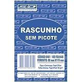 Bloco Para Rascunho Sem Picote 80x115 100fls. - Pacote com 20 Unidade(s), São Domingos, 6461-0, Multicor