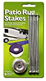 Prest-O-Fit 2-2001 Patio Rug Stakes - Pack of 6