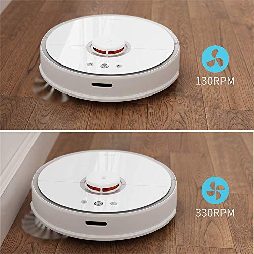 Roborock S5 Robotic Vacuum and Mop Cleaner, White