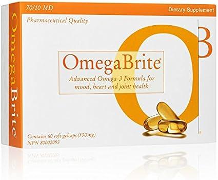 Amazon.com: omegabrite, 60 gelcaps blandos (500mg) | más ...