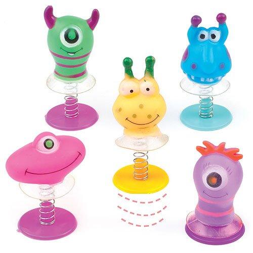 Mostri Salterini per Bambini Perfetti da Regalare alle Feste dei Bambini per Giocarci (confezione da 6) Baker Ross