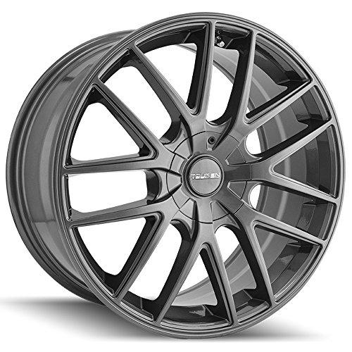 - Touren 3260-7709G TR60 Wheel with Gunmetal Finish (17x7.5
