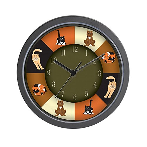 CafePress - CAT LOVERS! Wall Clock - Unique Decorative 10