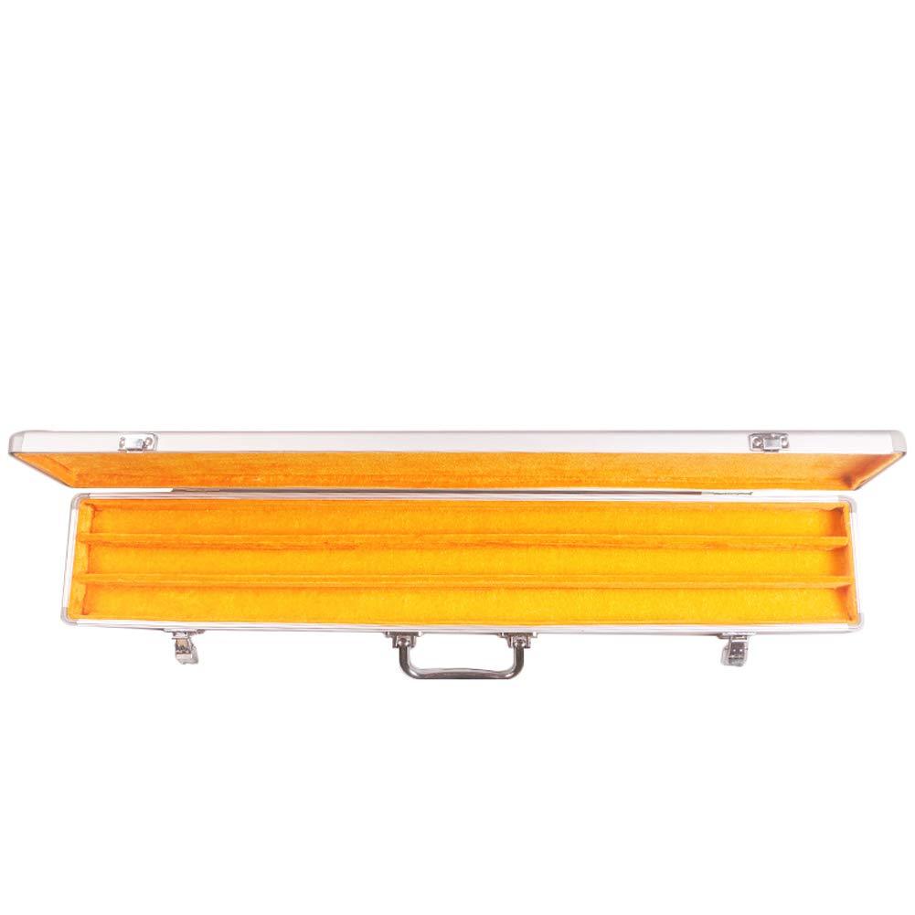 アルミニウムの竹のフルートボックスDizi梱包簡単に運ぶ風の楽器ボックスは1から12を保持することができます5スティックC、D、E、F、Gのキー (サイズ さいず : Capacity 12) B07K2T34BG  Capacity 3 Capacity 3
