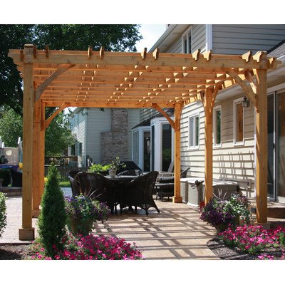 Breeze 20 Ft. W x 12 Ft. D Cedar Pergola (Breeze Pergola)