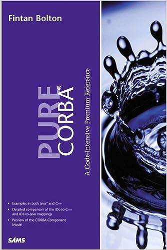 Pure Corba Mobi Download Book