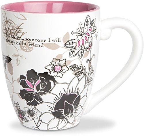 Mark My Words Sister Mug, 4-3/4-Inch, 20-Ounce Capacity