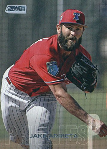 2018 Topps Stadium Club Baseball #38 Jake Arrieta Philadelphia Phillies MLB Trading Card