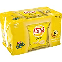 Lay's Classic Potato Chips, 1 Ounce - 6 count
