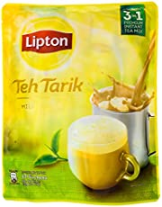 Lipton Teh Tarik Milk Tea, 21g (Pack of 12)